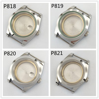 40mm Sapphire Glass Silver Color Stainless Steel Watch Case ...