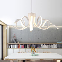Modern Chandeliers Led Lustres White Lamparas De Techo Lumin...
