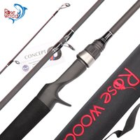 New RW- 664M Fuji Carbon Lure Rod 6' 6' ' 4 Section...