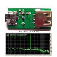 Freeshipping USB EMI Gürültü Engelleyici Filtre USB Sinyal Arıtma USB DAC Ses Cihazı için
