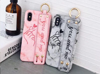 Lover Heart Wriststrap phone case for iPhone 6 6S 6plus hard...