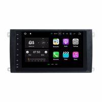 """2GB RAM 8 """"Android 7.1 Lecteur DVD de voiture pour Porsche Cayenne 2003 2004 2005 2006 2007 2008 2009 2010 Radio GPS BT WIFI Miroir-lien"""