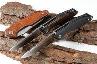 Mais recente arriver Big Three Faca 56-58HRC 7CR13 A161 A162 A163 1pcs faca faca de acampamento de caça dobrar o transporte livre