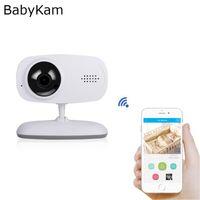 Smart WiFi Baby Monitor Video Nany 720 P IP Kamera Nachtsicht Intercom Baby Kamera Home Security Mini Kamera