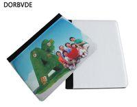 2D 승화 인쇄 빈 가죽 플립 커버에 대 한 iPad 미니 2/3 4 미니 빈 책 케이스 100pcs