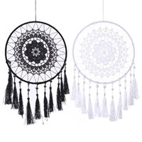 decorating style Lace Flower Dreamcatcher Wind Chimes Indian...