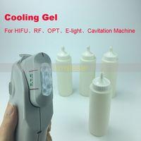 HIFU IPL ELIGHT RF gel بالموجات فوق الصوتية هلام التبريد بالموجات فوق الصوتية لفقدان الدهون آلة التخسيس العناية بالبشرة