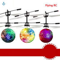 Colorful Flying Ball Helicopter RC Flying Ball Drone Helicop...