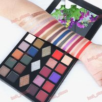 private label 23 color mix eye shadow palette shimmer matte ...