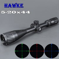 HAWKE 5- 20x44 AOIR Hunting Scopes RGB Illuminated Optic Sigh...