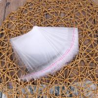 Ultimi sacchetti di plastica trasparente libero / autoadesivi della guarnizione di OPP sacchetto per il cibo secco sacchetto pacchetto / OPP Poly Bags
