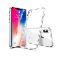 Ultradünn für Iphone 7 8 Plus Iphone 6S Plus Hülle S8 S7 Edge S6 Edge Plus Kristallklares TPU-Silikon-Softcover