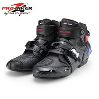 Motorcycle Boots PRO- BIKER High Ankle Racing Boots BIKERS Le...