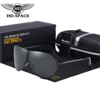 HD New Men Polarized Sunglasses Unique Folding Frog Eyewear ...