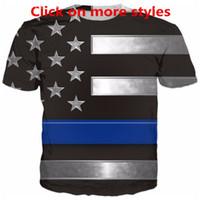 New Fashion Couples Men Women Unisex Cool Usa Flag Funny 3D Print No Cap Casual tshirt T-Shirts Tee Top