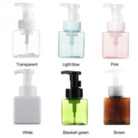 TAMAX PF004 250ml Square empty Refillable Bottles Foaming So...