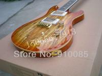 Meilleur prix Music Instrument Limited Edition Custom 24 Ltd.Nature Gold Hardware Guitare électrique Livraison gratuite