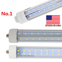 Stock In US + V Shaped 8ft t8 R17D led tubes single pin FA8 ...