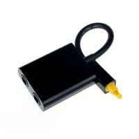 소형 USB 디지털 방식으로 Toslink 광섬유 오디오 1에 2 개의 여성 쪼개는 도구 접합기 마이크로 Usb 케이블 부속품