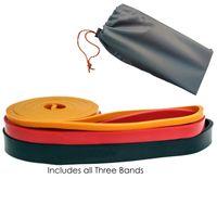 3pcs / set des bandes de résistance Exercice Fitness Latex boucle Puissance de levage Tirer vers le haut Bands renforcer les muscles