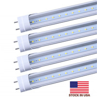 4ft LED T8 tubi luce 22W 28W 4 piedi G13 Led lampadine colore bianco freddo chiaro diffusore satinato Bi-pin tubo principale 25 pezzi