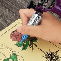 Poignée de tatouage professionnelle de cartouche d'alliage d'aluminium pour l'approvisionnement d'aiguille