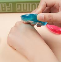 El nuevo silicón de la jalea de maquillaje esponja Crema Puff Puff gotas de agua Silisponge Cara Fundación Blender compone la herramienta de belleza 2018