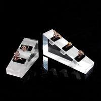 Bijoux acrylique affichage Bague Prop Boutique Comptoir Support étagère de bureau Kiosque Booth Bijoux Bagues Porte-exposition de gros en Chine