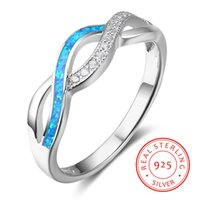 Good Quality Sterling Silver Blue and White Gemstone Accente...