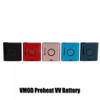 Vapmod VMOD Kit 900mah Preriscaldamento VV Scatola di tensione variabile Mod Batteria 2 in 1 Vaporizzatore di cera per 510 cartucce di olio spessa 100% autentico