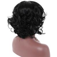 Peruk Gül net Avrupa ve Amerikan patlama modelleri Bayanlar moda büyük kafa derisi saç peruk kadın kısa kıvırcık saç peruk Sentetik Peruk Japon