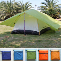Hot sales double tent double Layer Tents outdoor camping lov...
