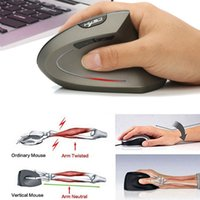 HXSJ T24 Wireless Mouse Optical Mice2400 DPI Wrist Healing C...