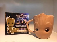 Groot ceramics mug Coffee cup Milk cup Birthday gift Christm...