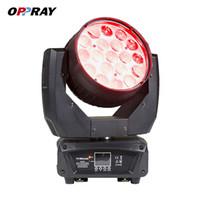 Heißes verkaufendes OPPRAY LED 19x15W Zoomwäsche bewegliches Hauptlicht DMX512 4-IN-1 rgbw LED Stadiumslicht für Säuberungsereignis KTV BAR Theaterleistung