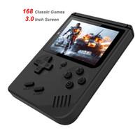 168 bir Retro Video Oyun Konsolu 8 Bit Retro Mini Cep El Oyun Oyuncu Klasik Oyunları Konsol için En Iyi Hediye Çocuk Nostaljik Oyuncu