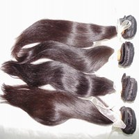 Grade 8A Virgin Peruvian Straight Hair Extension 4pcs lot Si...