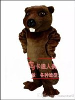 2018 High quality beaver mascot costume adult size factory c...
