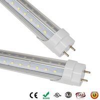 LED Tüpler 28W G13 T8 Floresan Tüp Enerji Ampul Lamba Ampul Lamba Şeffaf Kapak Ücretsiz Kargo 4ft UPS FEDEX led 4ft