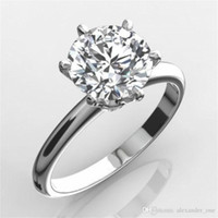 Classic Brand Jewelry Real Solid 925 Sterling Silver Ring 2C...