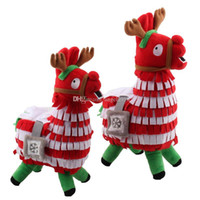 New Christmas Fortnite Alpaca Plush toys cartoon Stash Llama...