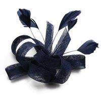 2020 Única Sombrero de novia Sombrero colores multi Accesorios novia de la boda sombreros para mujeres fascinator del Birdcage