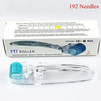 MT Derma Roller 192 Rouleau de derma à aiguille micro pour la peau Soins de la cicatrice d'acné Scar Cercle Dark Firming