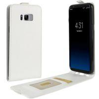 Für Samsung Galaxy S8 Plus Up Down Leder Flip Case + TPU Rückseitige Abdeckung Samsung S8 Wallet Cases Mit Kartensteckplätze Tasche
