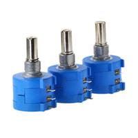 Envío gratis 3590S-2-103L 3590S 10K ohmio de precisión multivuelta potenciómetro 10 anillo de resistencia ajustable