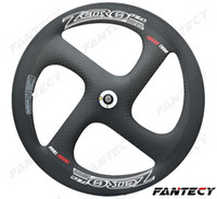 Yüksek kalite! 700C Sıfır 4-kollu karbon jantlar 20.5mm genişliği için Yol / Parça Bisiklet tübüler / kattığı karbon Tekerlek