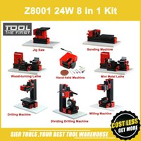Z8001 8 1 Mini Torna Kiti / 8 in 1 normal tip torna / 24 W, 20000 rpm 8in1 makine kiti