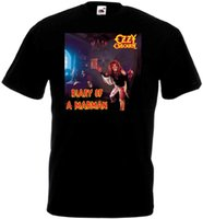 Ozzy Osbourne Diary Of A Madman T-Shirt Poster Black Poster Tutte le taglie S To 3XL New Brand-Clothing T-shirt