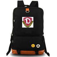 Dynamo Dresden mochila SG daypack D clube de futebol crachá mochila de Futebol equipe mochila saco de escola Da Lona Ao Ar Livre pacote de dia