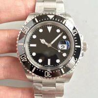 2018 ~ 2019 Nuevo reloj de pulsera de lujo rojo Basel SEA-DELER reloj de acero inoxidable 43MM reloj 126600 reloj automático para hombre llegada envío gratis
